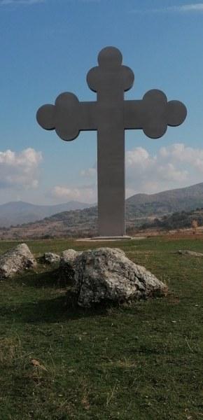 Кръст се извисява и ще грее над асеновградско село