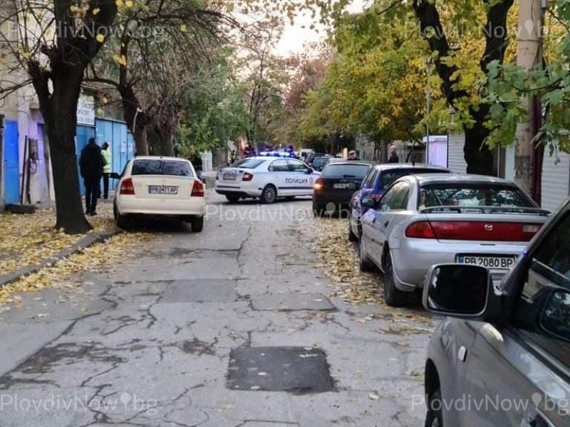 Труп на мъж откриха на улица в центъра на Пловдив