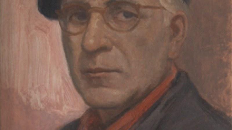 Художникът Добри Добрев, нарисувал духа на Перущица и неин почетен гражданин