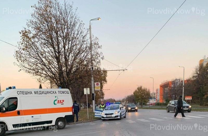 Инцидент и днес в Пловдив! Кола удари пешеходец