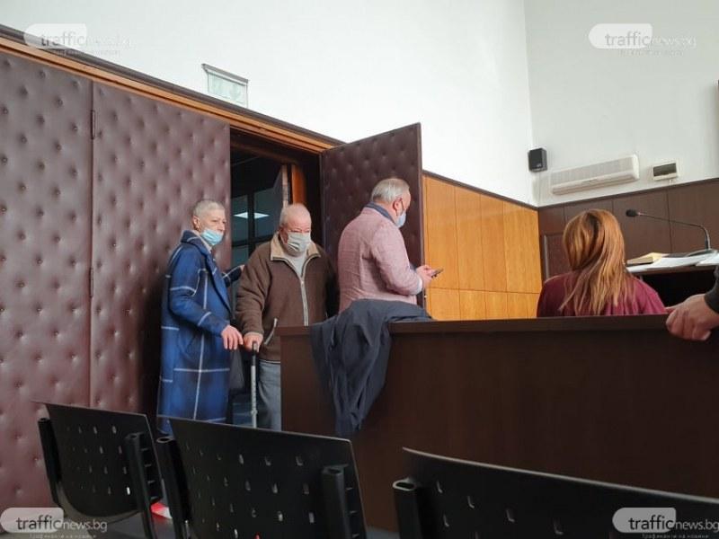 Стефан, опитал да убие съседа си в Раковски, най-после се появи в съда