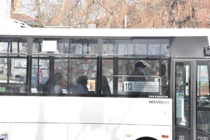 Драстично намаляха пътниците в градския транспорт на Пловдив