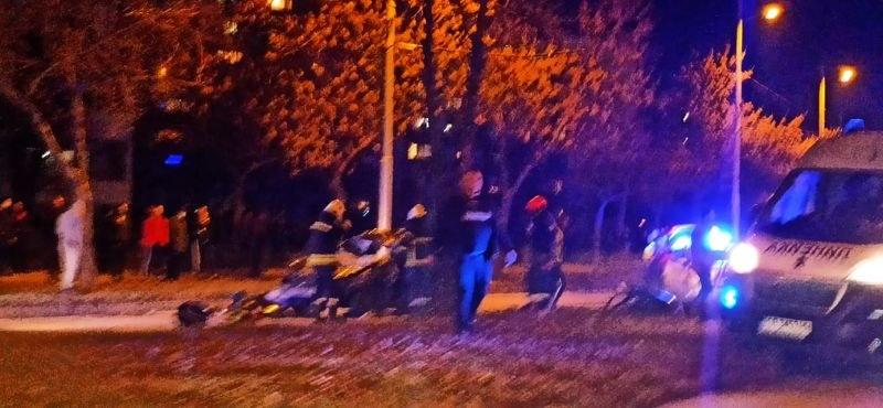 Тежка катастрофа тази вечер в Пловдив, има пострадали