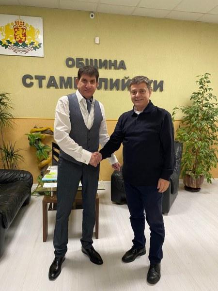 Обсъдиха три важни проекта за община Стамболийски, най-важният е за довеждащия колектор