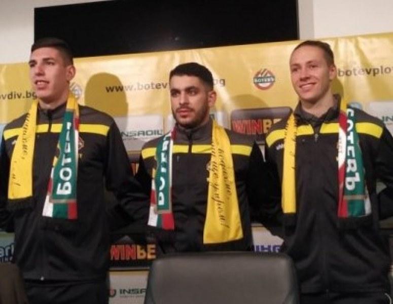 Новите футболисти на Ботев: Отборът трябва да се спаси и да спечели Купата