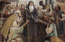 Нощно бдение в Бачковския манастир в памет на св. Патриарх Евтимий