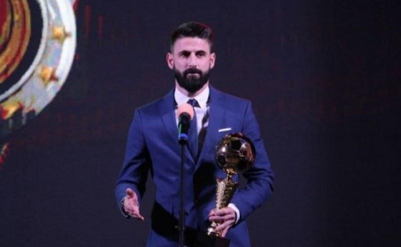 Пловдивчанинът Димитър Илиев отново стана Футболист номер 1 на България