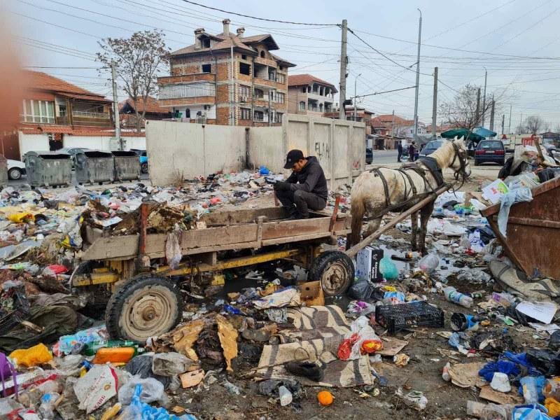 Хванаха камион и каруца да изхвърлят боклуци в Столипиново