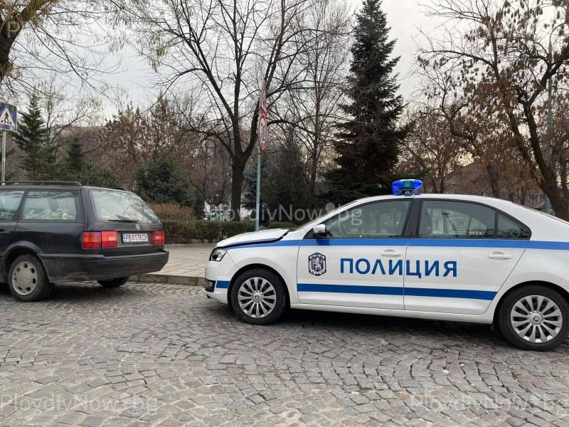 Патрулка удари друга кола в Кючука