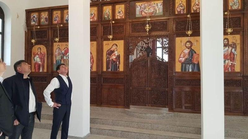 """Църквата """"Св. Георги"""" в с. Триводици е напълно преобразена, кметът на Стамболийски остана възхитен"""
