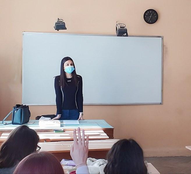 Съдии и прокурори разговаряха по важни теми с ученици от Пловдив