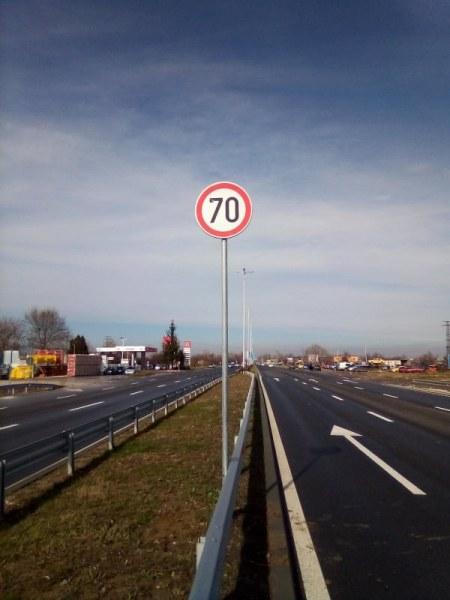 От днес: Увеличиха максималната разрешена скорост по Асеновградско шосе