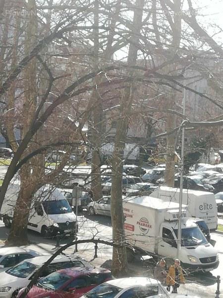 Верижна катастрофа затрудни движението в централна част на Пловдив