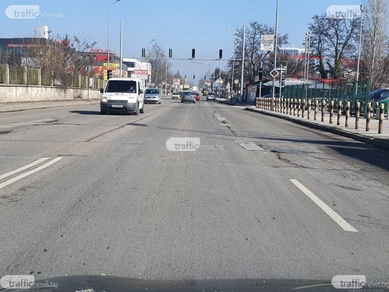 """Спешно запълват дупки по улици в """"Северен"""""""