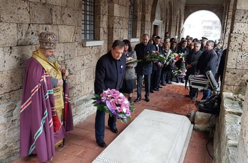 19 април 2007: Мощите на цар Калоян са тържествено погребани