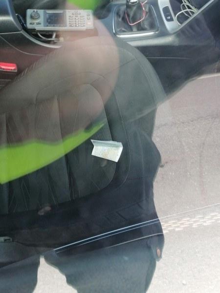 Спипаха шофьор в нарушение в Първомай, той подхвърли подкуп на полицаите