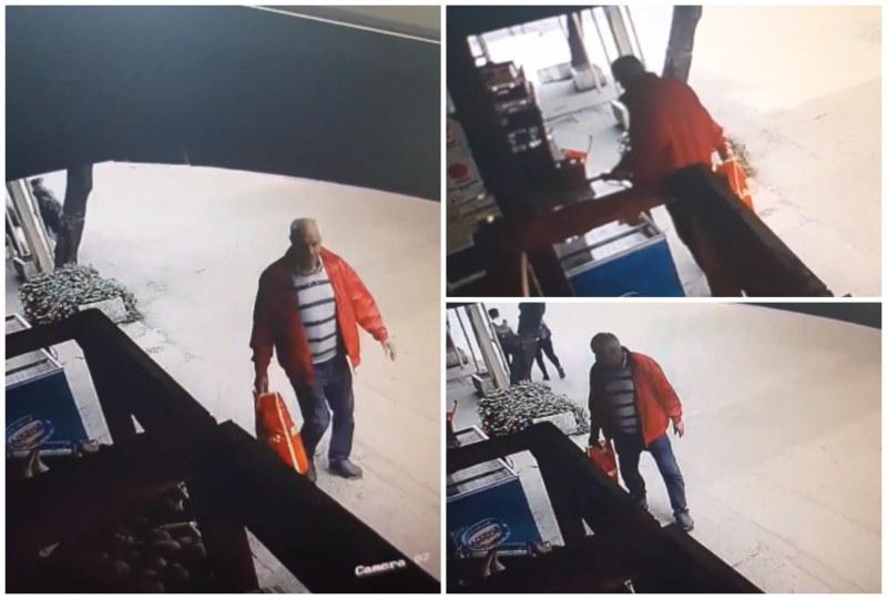 Възрастен мъж открадна телефон на дете в Пловдив, познавате ли го?
