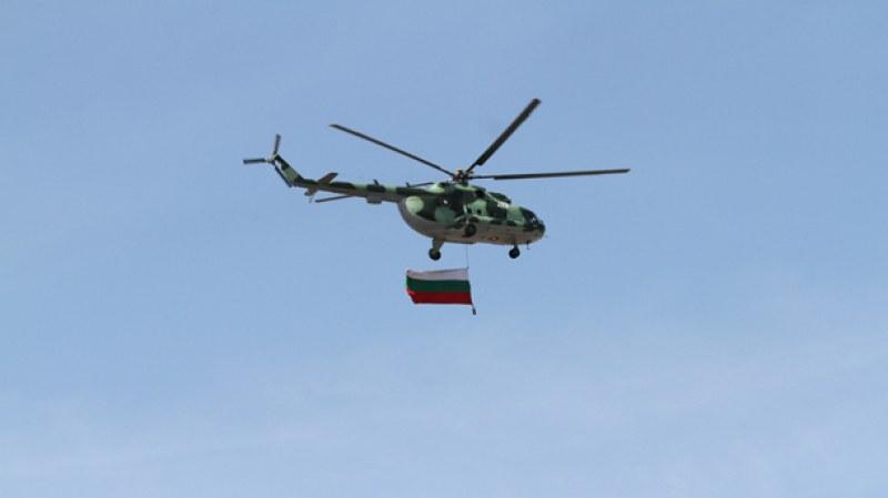 Вертолети и самолети от базите в Крумово и Графа участват в бойния празник на 6 май