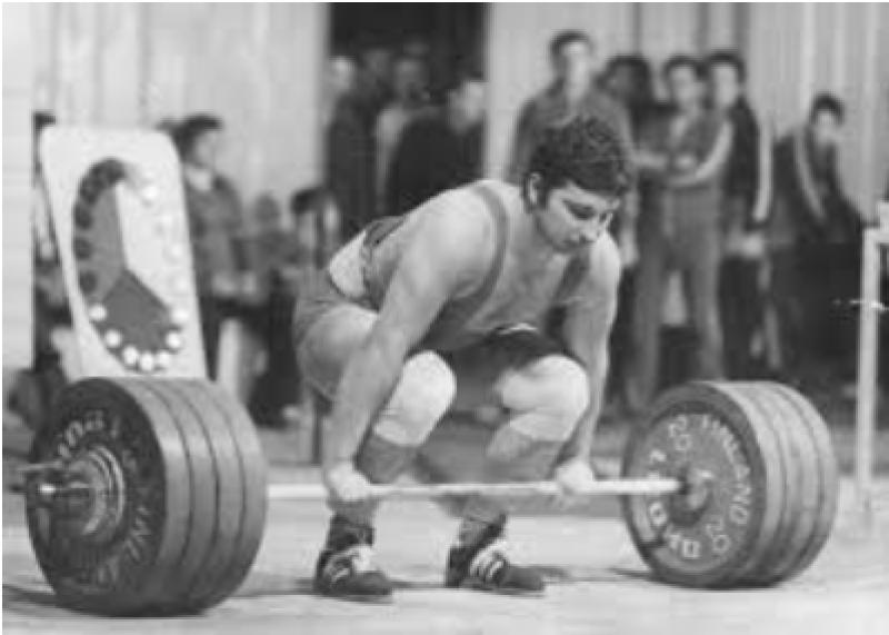 Щангистът Румен Александров - олимпийски медалист, роден в Асеновград