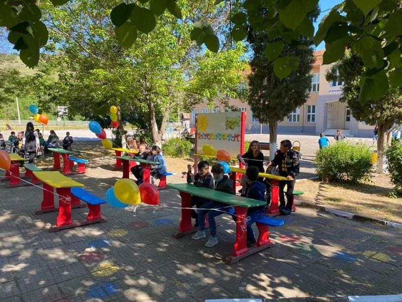 Зелена класна стая приема децата на село Първенец