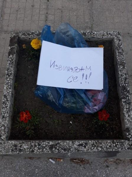 Откраднаха цветята на жена от Асеновград, после ги върнаха с извинение