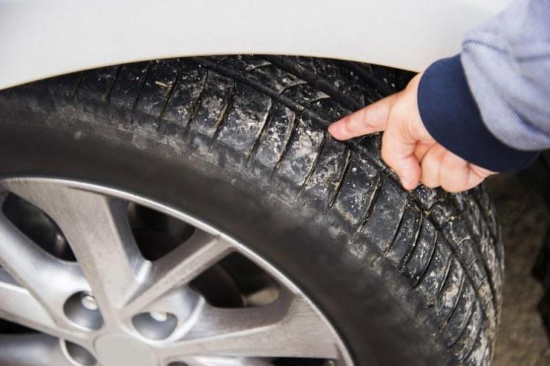 Коли осъмнаха с нарязани гуми в центъра на Пловдив