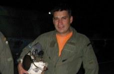 Майор Терзиев е пилотът на падналия изтребител от Граф Игнатиево