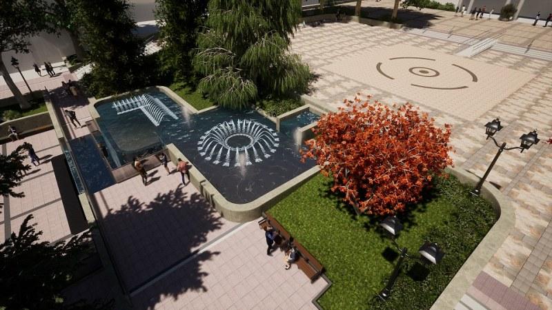 Обясниха как ще се ремонтира площадът в Карлово, финансирането е над 1,5 млн. лева