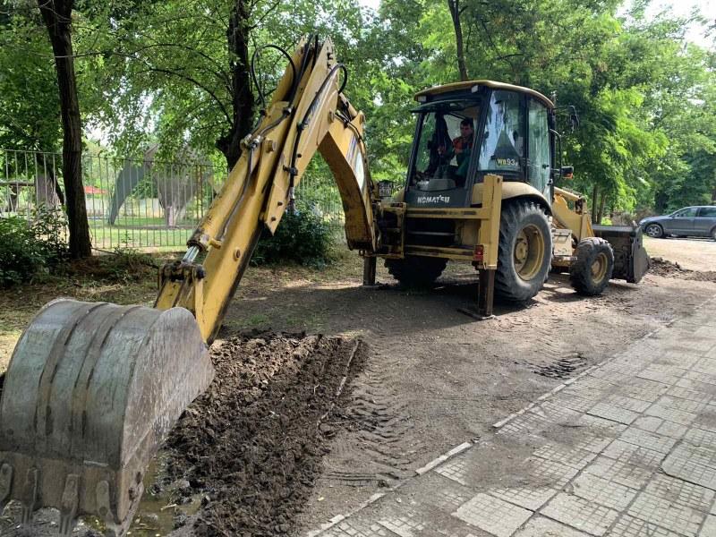 Намериха начин да спрат паркирането на коли пред детска градина в Пловдив