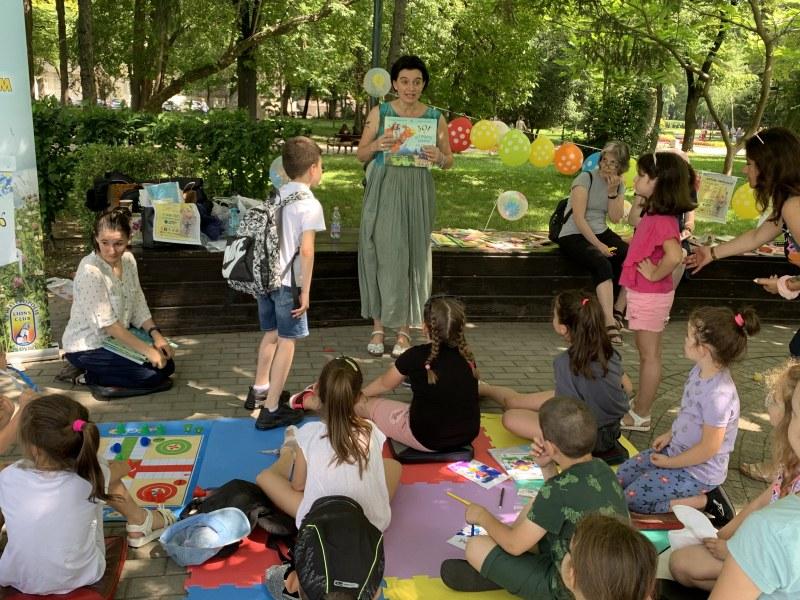 Лятна читалня на открито за деца в Пловдив! Входът е свободен, материалите - осигурени