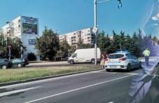 Катастрофа на Цариградско шосе, кола и бус се удариха