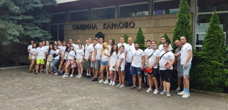 35 младежи от 7 страни се събраха в Карлово по международен обмен