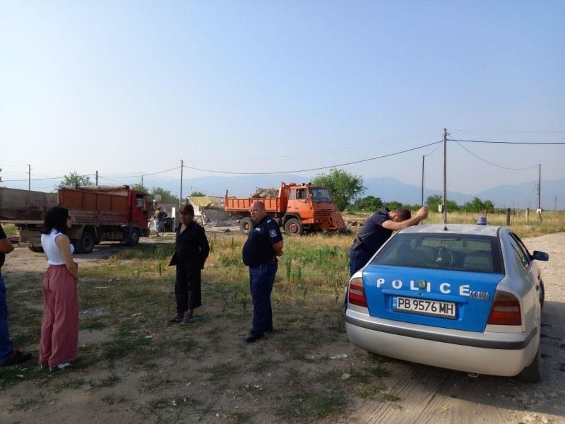 Георги Мараджиев проведе акция по събарянето на незаконни постройки
