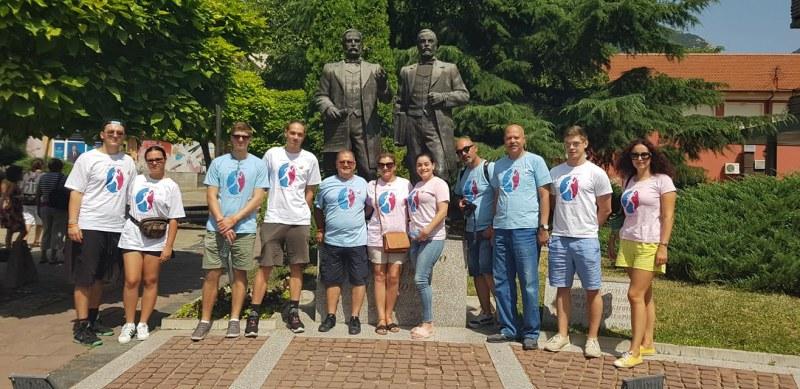 Младежи в Карлово приеха гости от чужбина по спортен проект