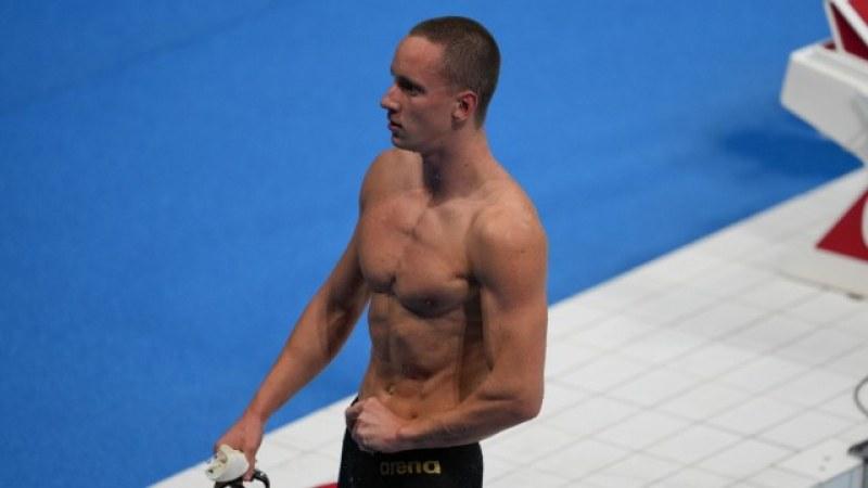 Плувецът ни Любомир Епитропов отива на полуфинал на Олимпиадата