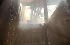 Пожар пламна в центъра на Пловдив заради неизправен бойлер