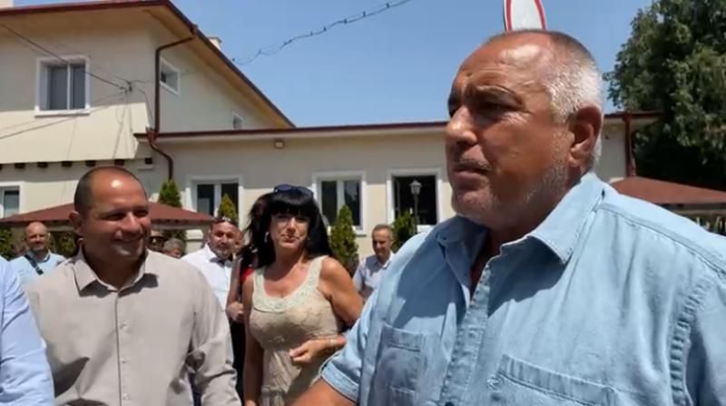 Бойко Борисов на гости в Стамболийски, коментираха изборите