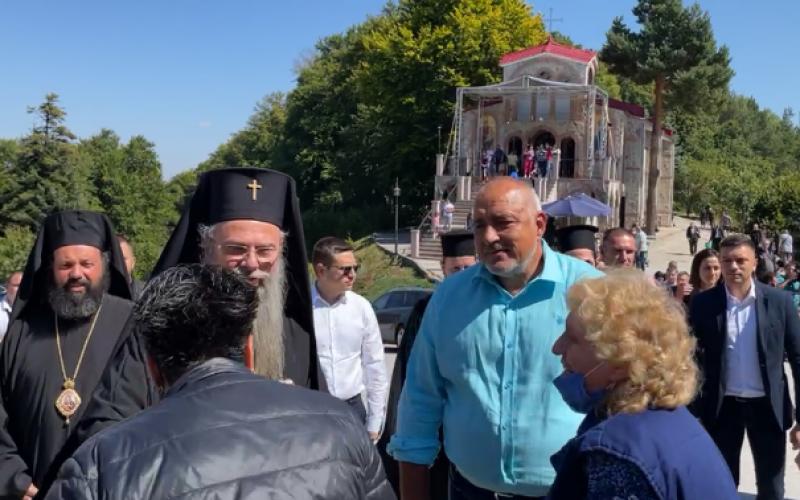 И Бойко Борисов отиде на Кръстова гора