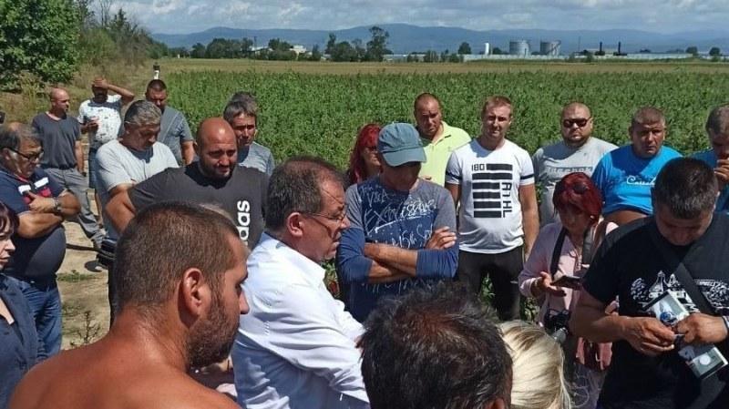 Окончателно! 142 земеделци поискаха помощ заради градушката в Пловдивско