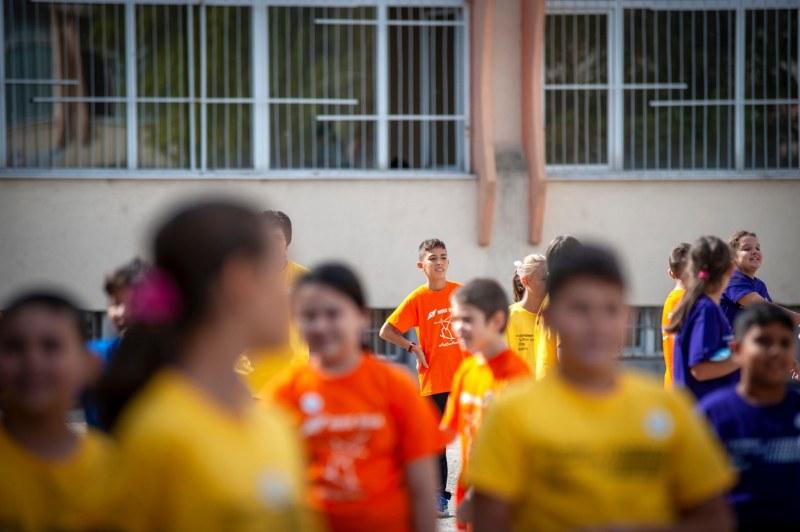 В Пловдив: Шампионки откриха Европейския ден на спорта в училище