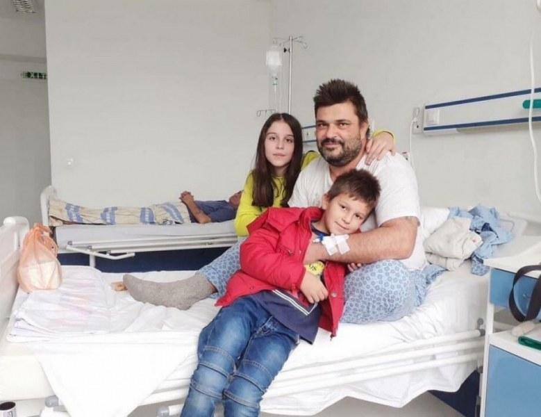 Самотен баща на две деца има нужда от помощ!
