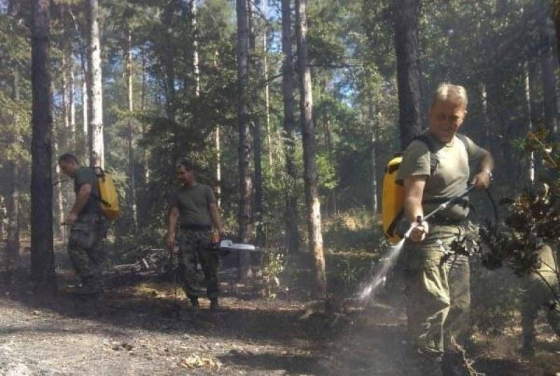 Човешка небрежност причина за новия пожар над Карлово