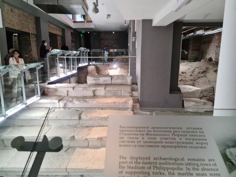 Източният сектор на Римския стадион официално достъпен за посетители