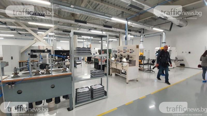 Нов завод за оптична техника от световен клас отвори врати край Царацово