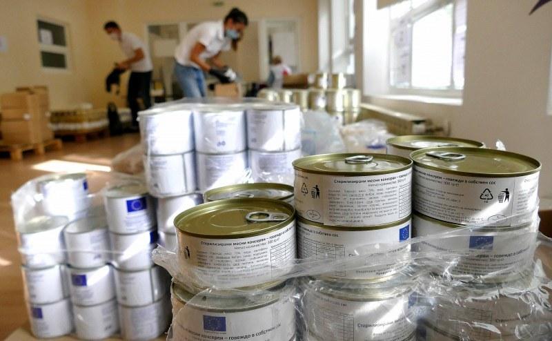 БЧК започва раздаване на хранителни пакети в Белозем