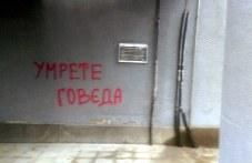 Драсканици и обидни думи - вандали пак посегнаха на почистени фасади в Пловдив