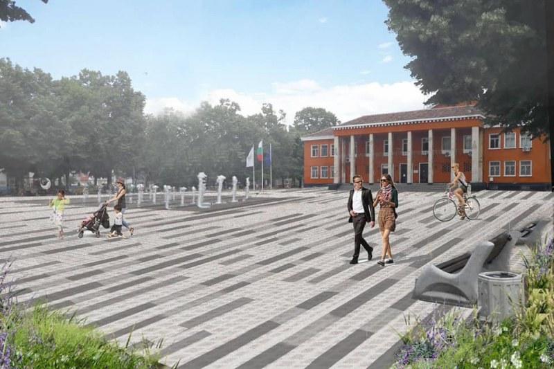 Преобразен ще е центърът на Стамболийски след ремонтите на площада, читалището и лятното кино