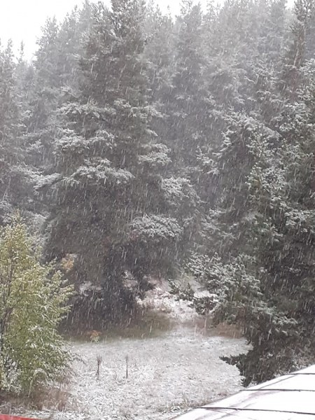 Сняг заваля и на Върховръх