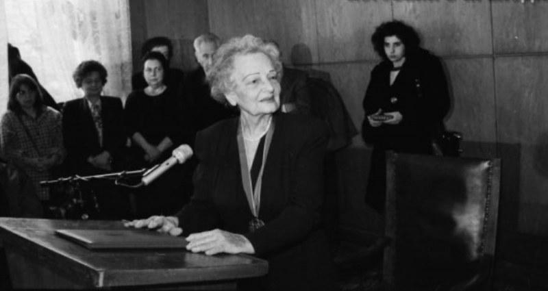 Жана Николова-Гълъбова - изключителен учен и почетен гражданин на Перущица