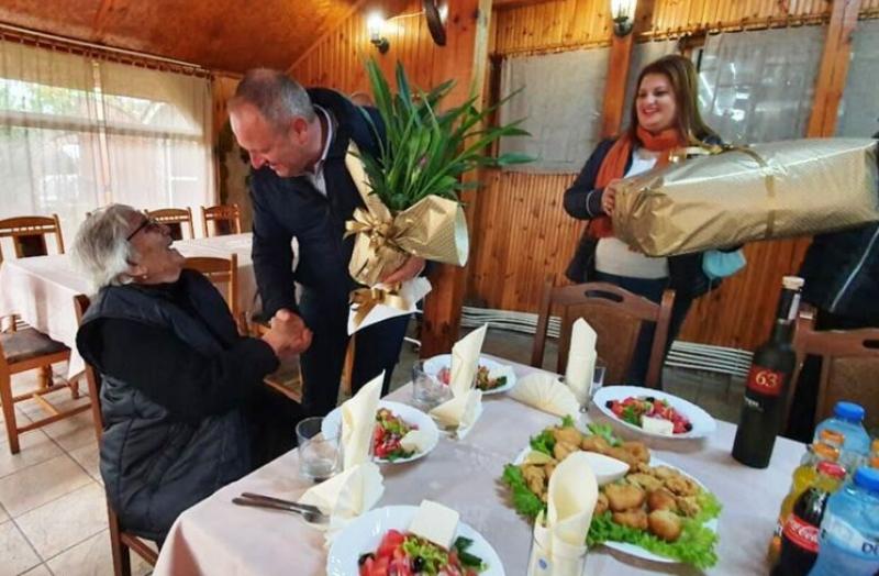 Нова столетница в Първомайско - баба Пяна Проданова